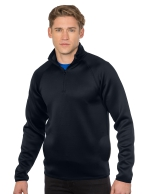 F7081 M's Layer Knit Quarter-Zip Image